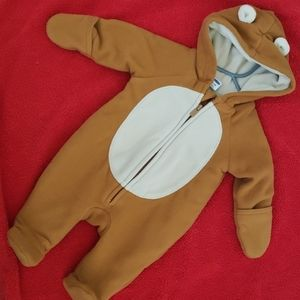 Teddy bear footie outfit